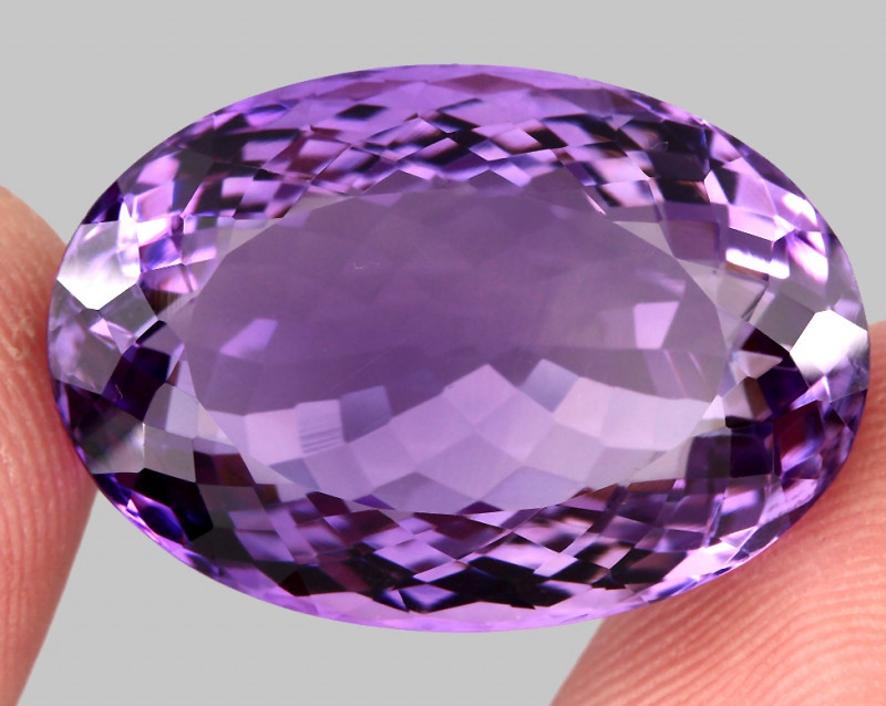 40.65  ct 100% Natural Earth Mined Unheated Purple Amethyst, Uruguay