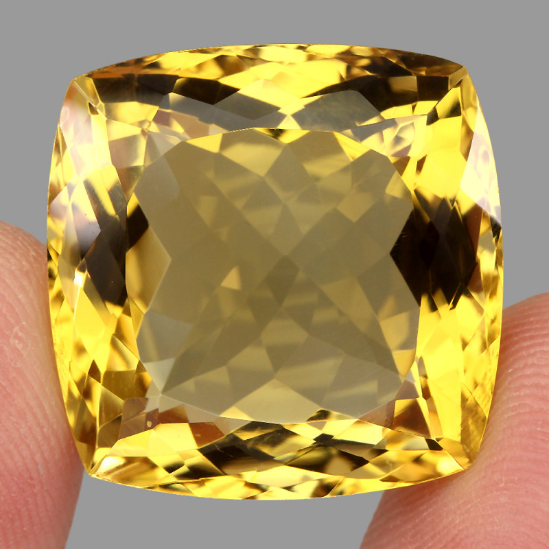 56.60 ct. Natural Earth Mined Unheated Top Yellow Golden Citrine Brazil