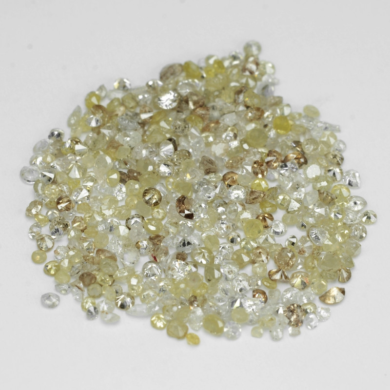 2.11 Cts Untreated Fancy Yellowish Grey Color Natural Loose Diamonds