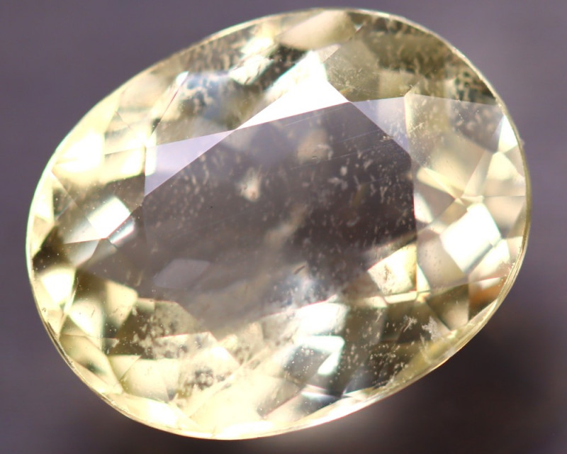 Heliodor 5.53Ct Natural Yellow Beryl ES1520/A56