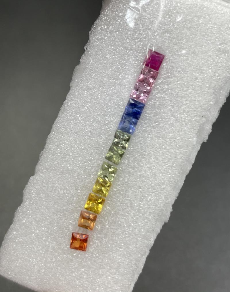 1.54 CT Fancy Sapphire Gemstones