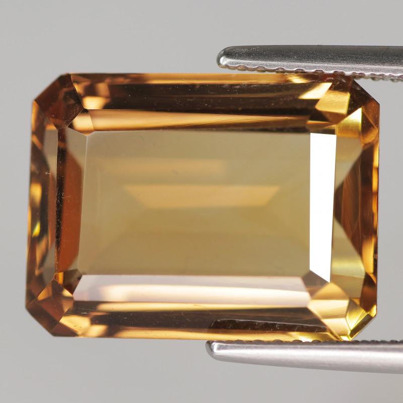 12.30 Cts Natural Golden Yellow Quartz Gemstone