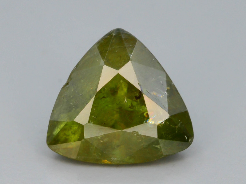 Rare AAA Astonishing Fire 2.45 ct Chrome Sphene from Himalayan Range Skardu