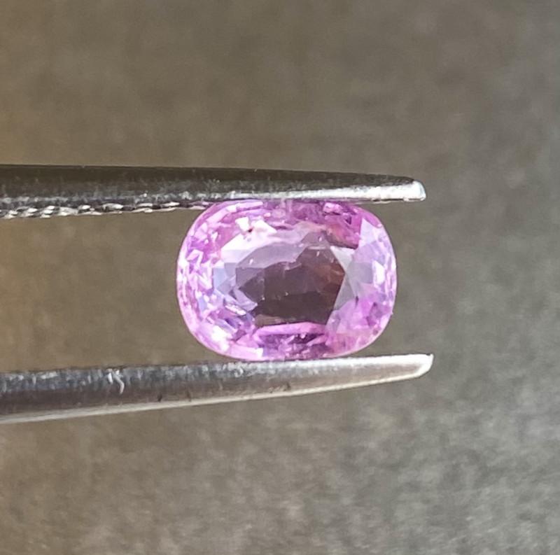 0.97ct unheated pink sapphire
