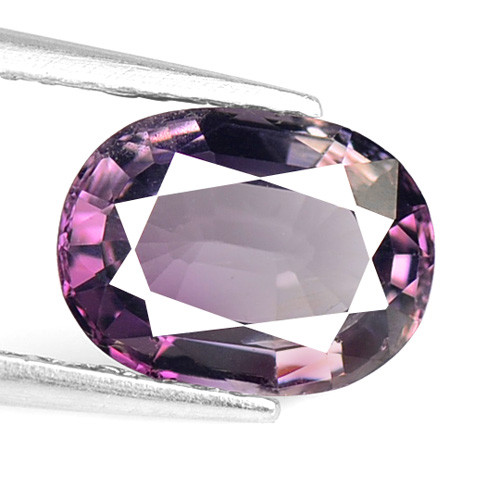 *No Reserve*Spinel 1.55 Cts Unheated Rare Purple Pink Color Natural Gemston