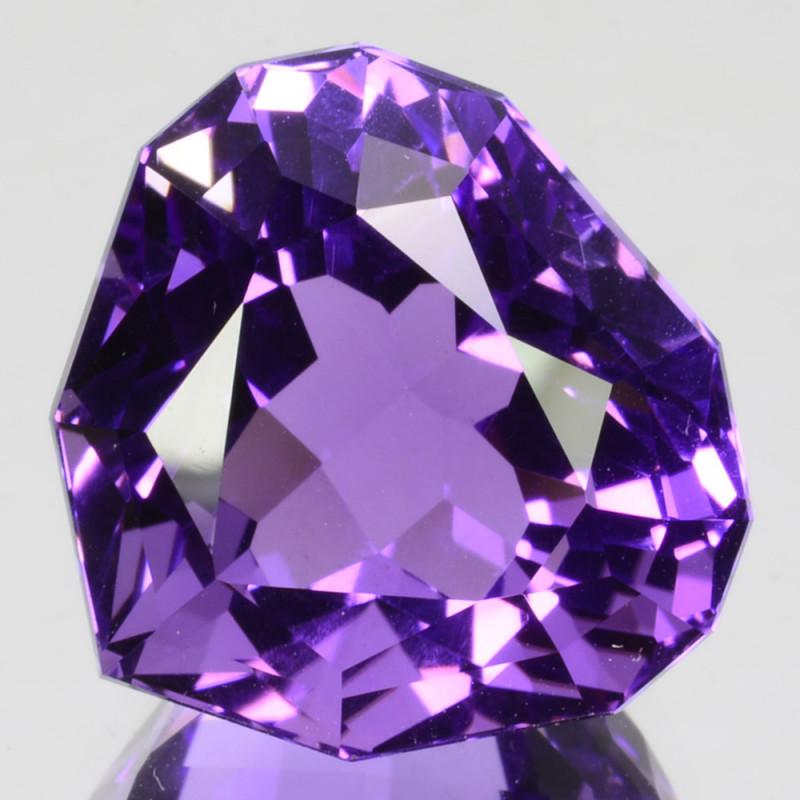 ~CUSTOM CUT~ 18.81 Cts Huge Natural Purple Amethyst Fancy Bolivia