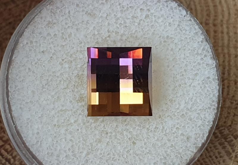6,22ct Ametrine - Pixelated cut!