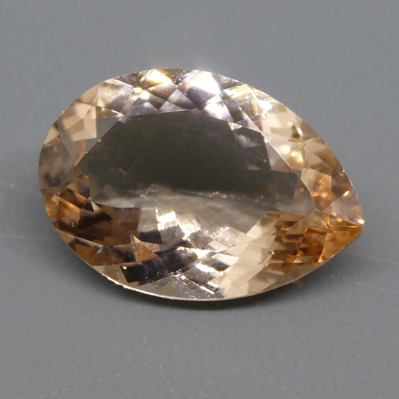 3.85ct Pear Morganite
