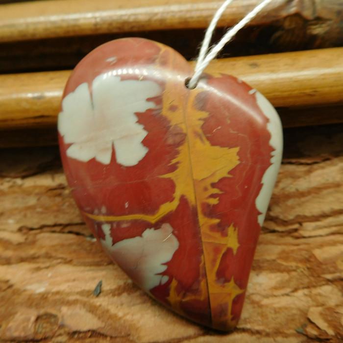 Creek jasper pendant (G2552)