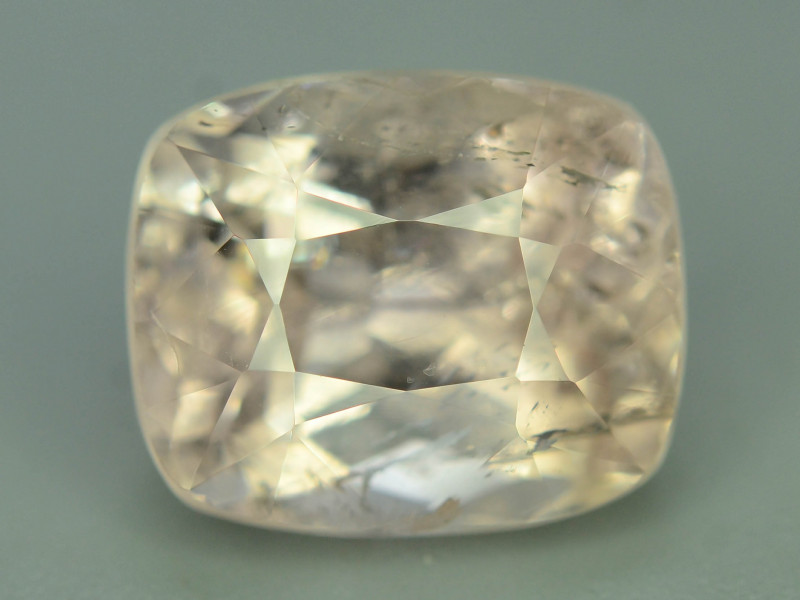 Rarest 6.60 Ct Natural Peach Topaz ~ Katlang Mine ~ No Heat / No Treat