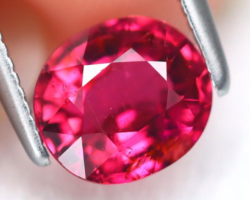 Pink Tourmaline 1.21Ct Oval Cut Natural Vivid Pink Tourmaline AB6732
