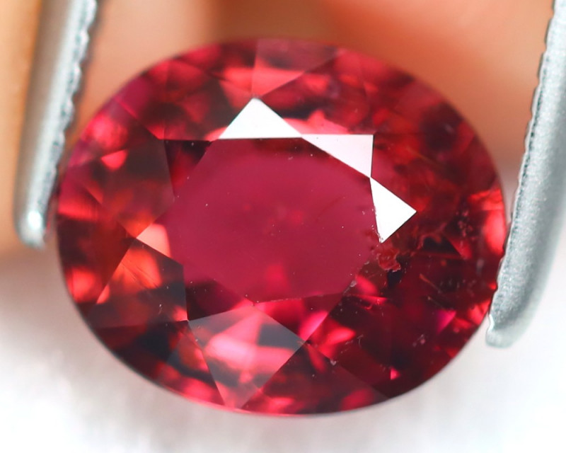 Pink Tourmaline 1.47Ct Oval Cut Natural Vivid Pink Tourmaline B6736