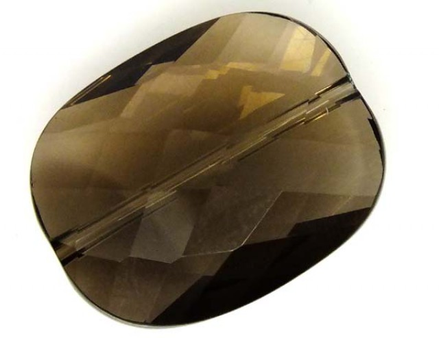 SMOKY QUARTZ FACETED DRILLED 22 CTS  NP-1572