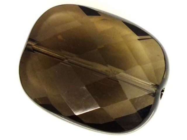 SMOKY QUARTZ FACETED DRILLED 21.55 CTS NP-1571