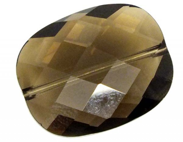 SMOKY QUARTZ FACETED DRILLED 19.10 CTS  NP-1574