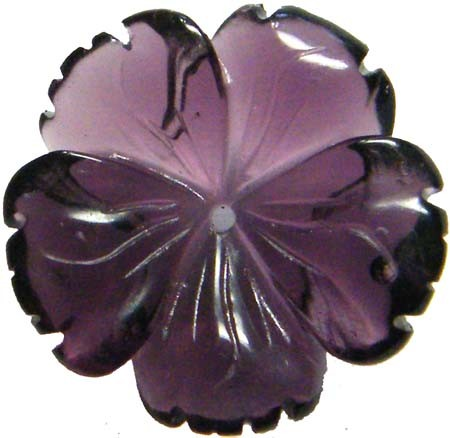 LARGE AMETHYST CARVING 20 MM 11.40 CTS [MX4180 ]