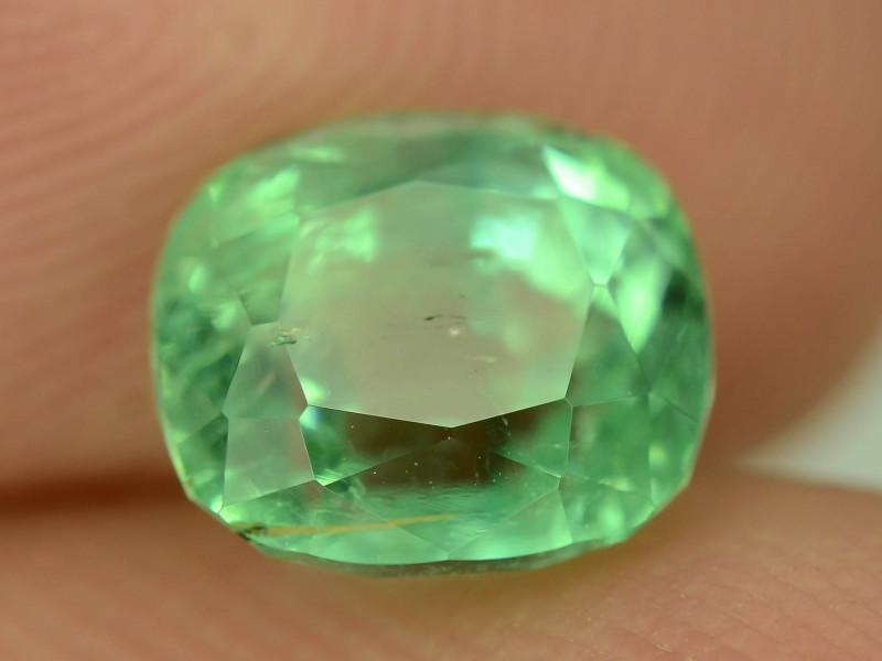 Top Color & Clarity 1.60 ct Panjshir Emerald~Afghanistan ~ K