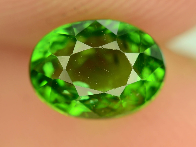 Certified AAA Cut & Clarity 1.34 ct Amazing Color Tourmaline Chrome ~ K
