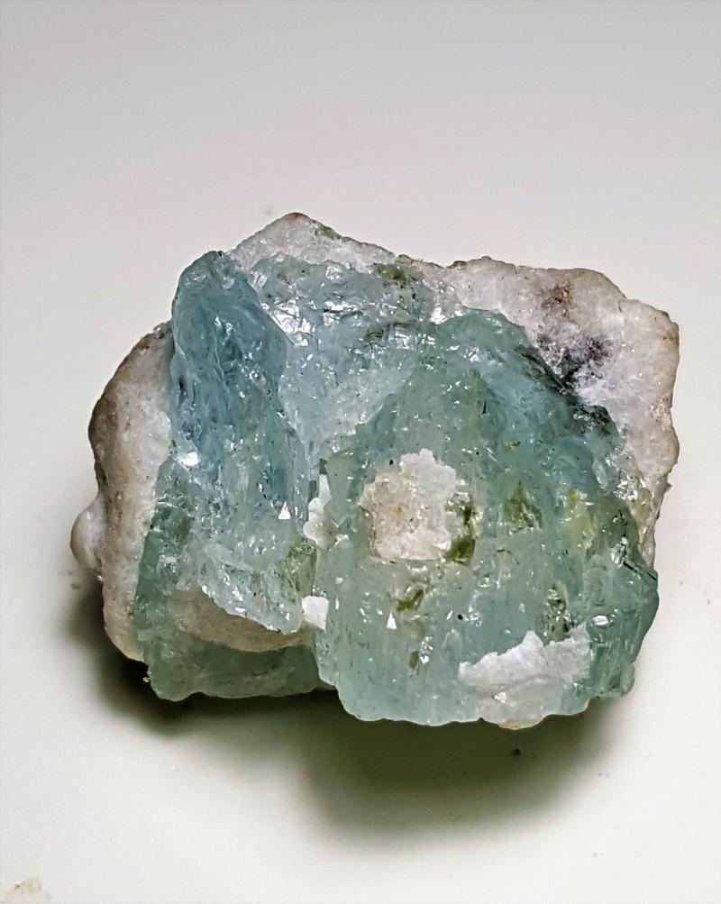 Beautiful Natural color Aquamarine specimen 79Cts-Pakistan