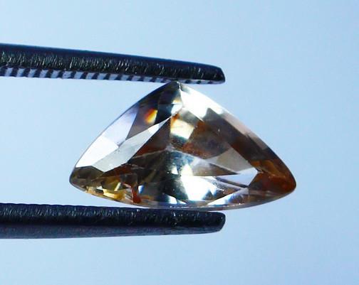 1.60 Cts Natural - Unheated  Brown Zircon Gemstone