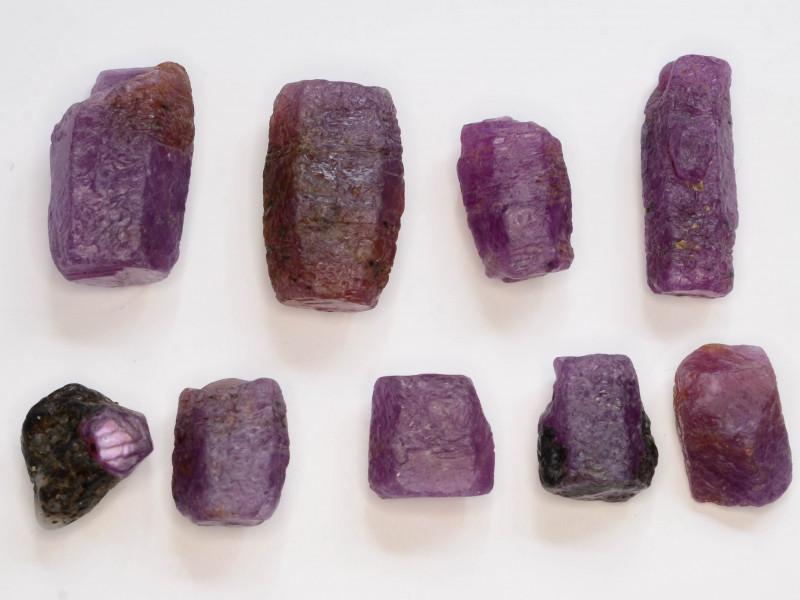 101.65 CT Top Quality Ruby Crystals ~ Madagascar
