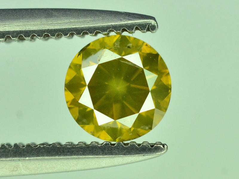 Top Quality 0.40 ct yellow Diamond