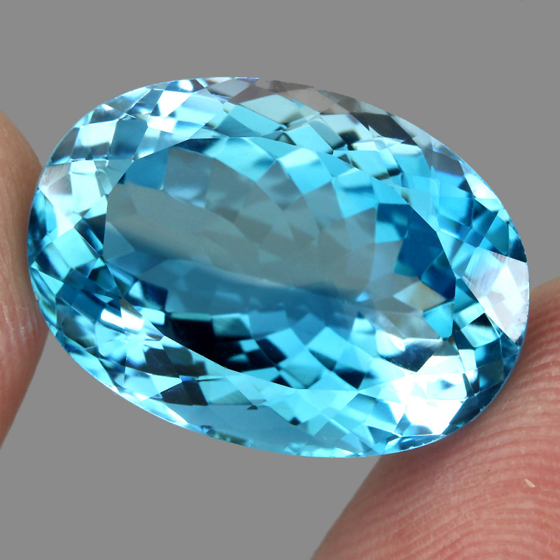 26.62 ct. 100% Natural Earth Mined Top Quality Blue Topaz Brazil
