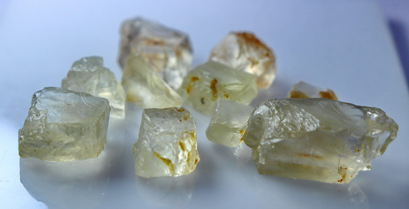 NR!!!! 98.00 CTs Natural & Unheated~ Yellow Orthoclase Rough Lot