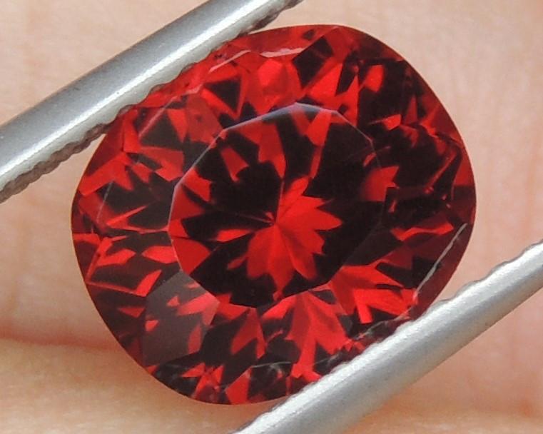 3.74cts, Spessartite Garnet,  Precision Cut