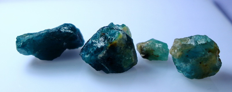 NR!!!! 50.40 CTs Natural & Unheated~ Blue Grandidierite Rough Lot