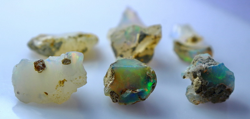 NR!!!! 31.50 CTs Natural & Unheated~ White Opal Rough Lot