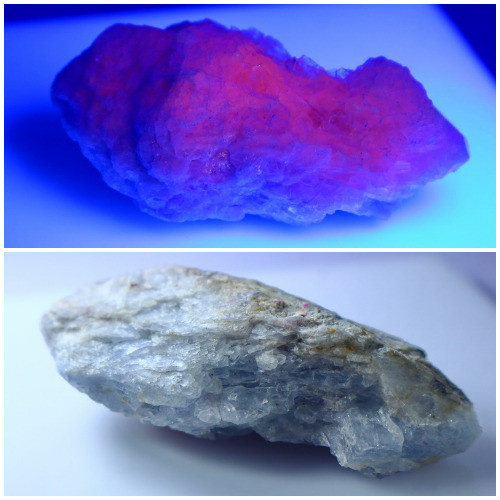 NR!!!! 139.70 CTs Natural & Unheated~ UV Light Color Change Hackmanite Spec