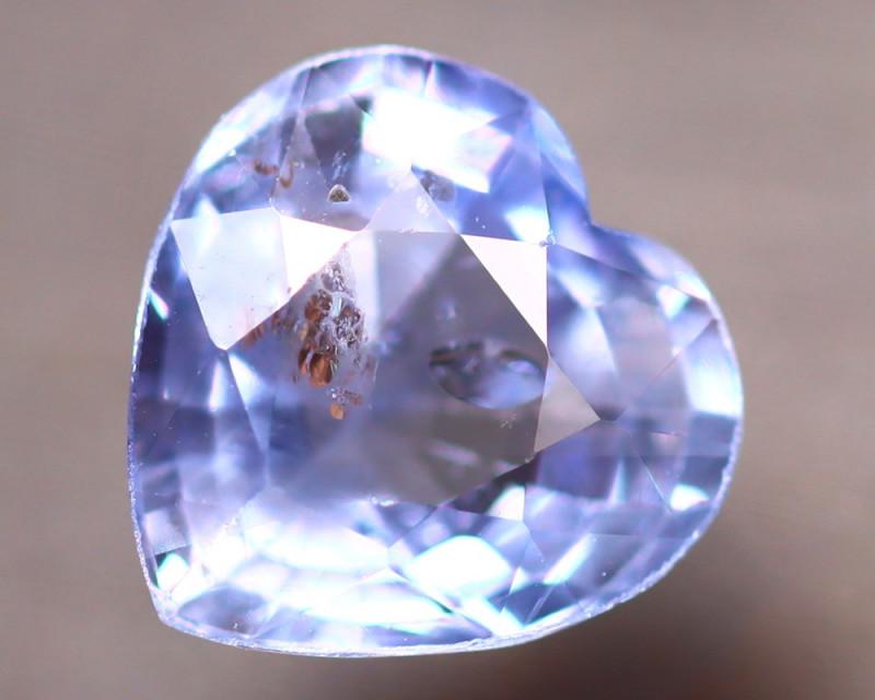 Unheated Sapphire 1.43Ct Natural Heart Shape Blue Sapphire EE2642/B32