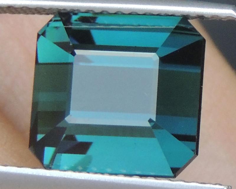 6.77cts, Cyan Blue Indicolite Tourmaline,