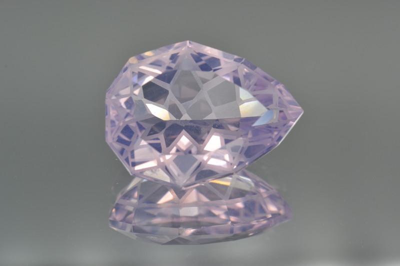 Natural Lavender Quartz 8.94 Cts Top Quality with Precision Cut