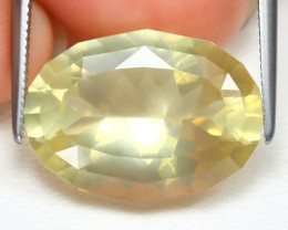 Bytownite 9.23Ct VS Fancy Oval Cut Natural Yellow Bytownite B2104