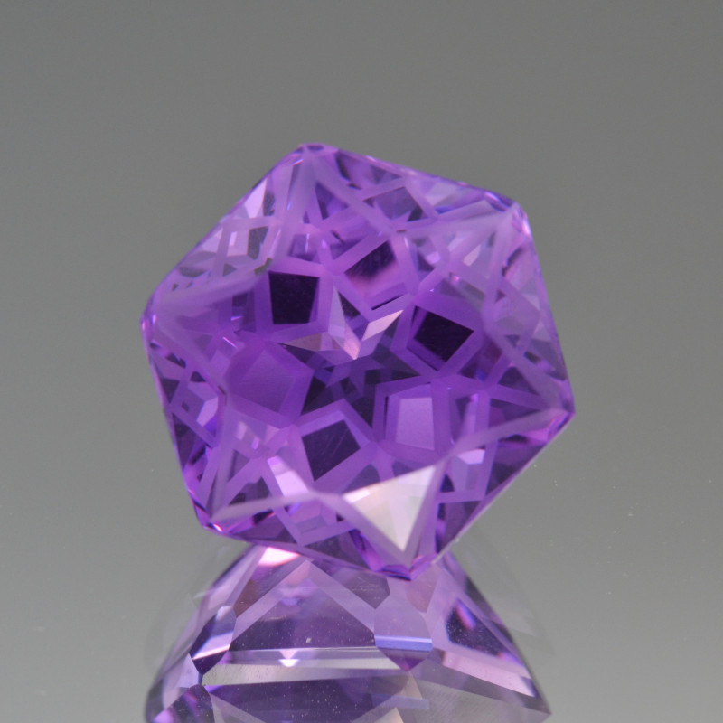 Natural Amethyst 12.84 Cts Top Quality with Precision Cut