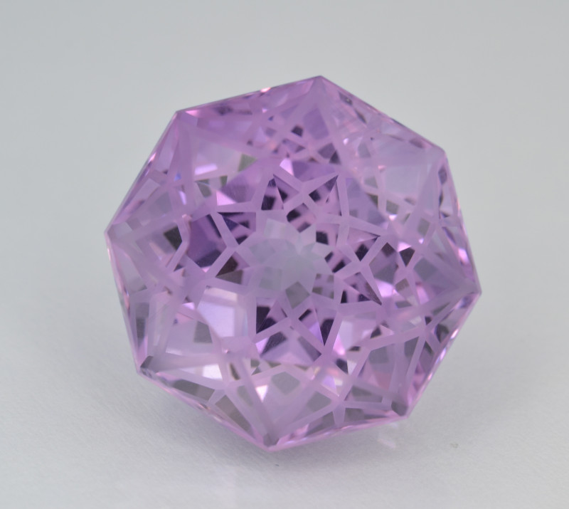 Natural Amethyst 18.29 Cts Top Quality with Precision Cut