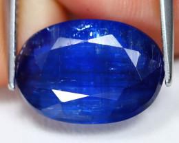 Kyanite 5.64Ct Oval Cut Natural Himalayan Royal Blue Kyanite C2114