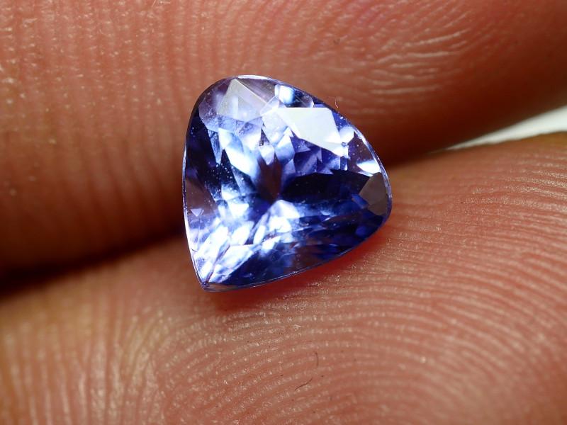 1.275CRT BEAUTY PURPLE BLUE TANZANITE -