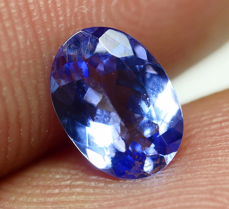 0.965 CRT WONDER BEST FULL TANZANITE TOP QUANLITY GEMSTONE -