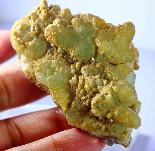 NR!!!! 451.00 CTs Natural & Unheated~ Green Prenite Specimen