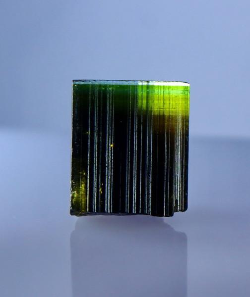 NR!!!! 16.35 CTs Natural & Unheated~ Green Cap Tourmaline Crystal