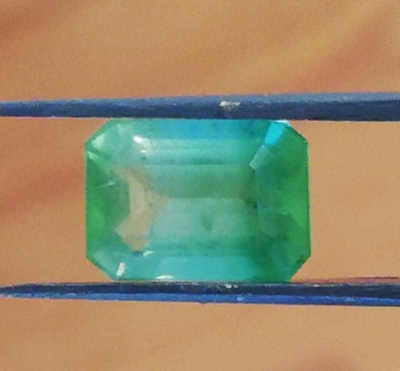 Tourmaline, 2.55ct, Jabba, this stone has a range of colours in it that fas