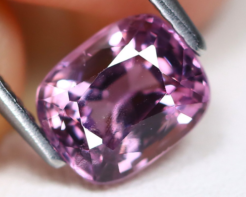 Purple Spinel 1.69Ct Octagon Cut Natural Burmese Purple Spinel A2401