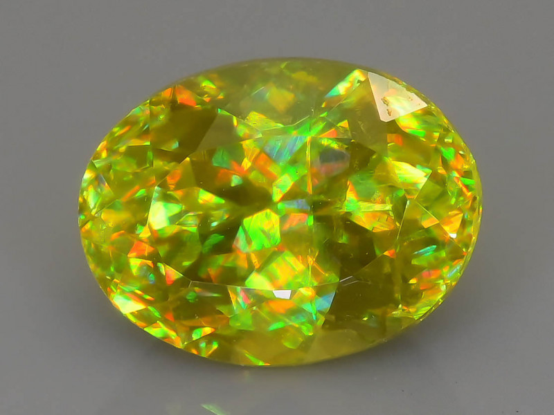 Rare AAA Fire 1.20 ct Sphene Sku-63
