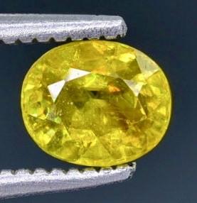 0.71 Crt  Sphene Faceted Gemstone (Rk-35)