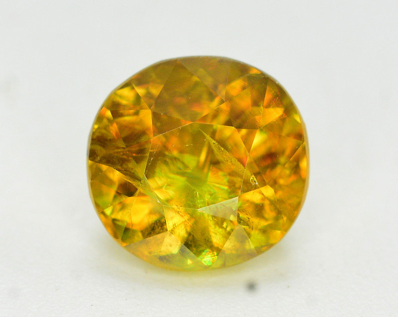 Natural 1.95 Carat Sphene With Amazing Spark