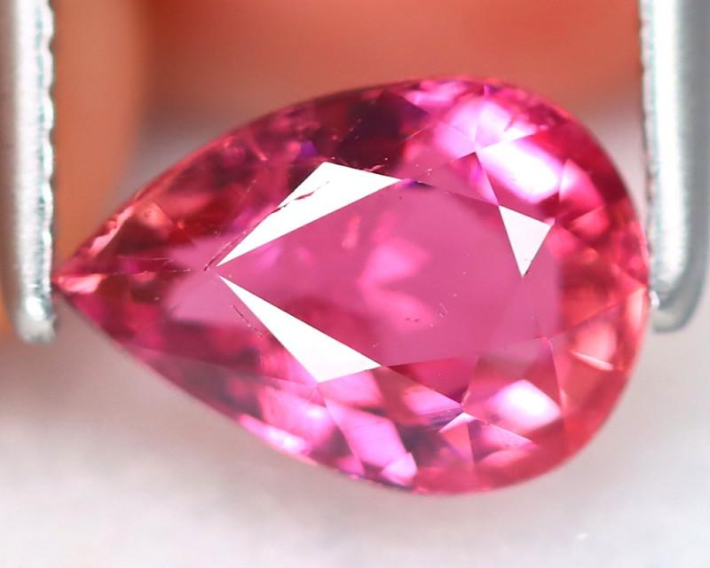 Pink Tourmaline 0.98Ct Pear Cut Natural Vivid Pink Tourmaline B7368