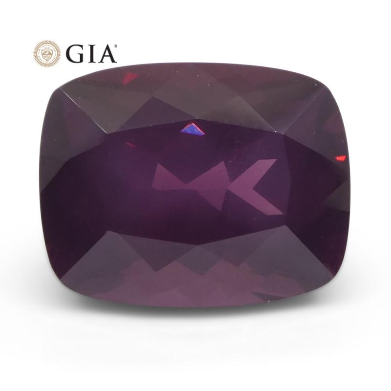 9.98ct Cushion Purple-Red Spinel GIA Certified Tanzania